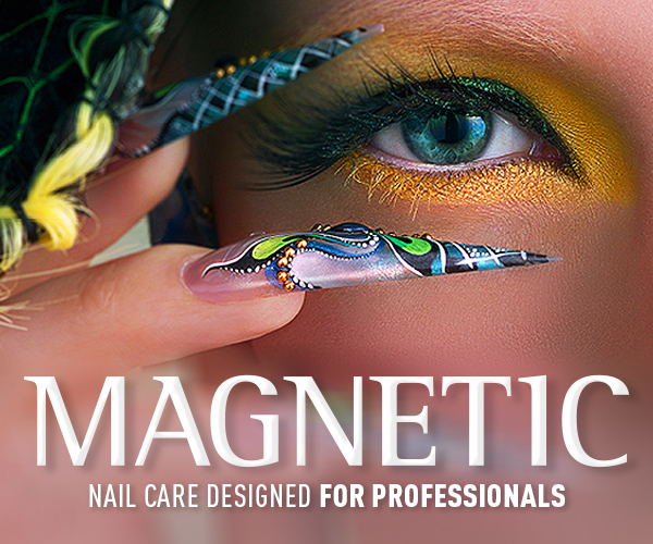 Magnetic nail design