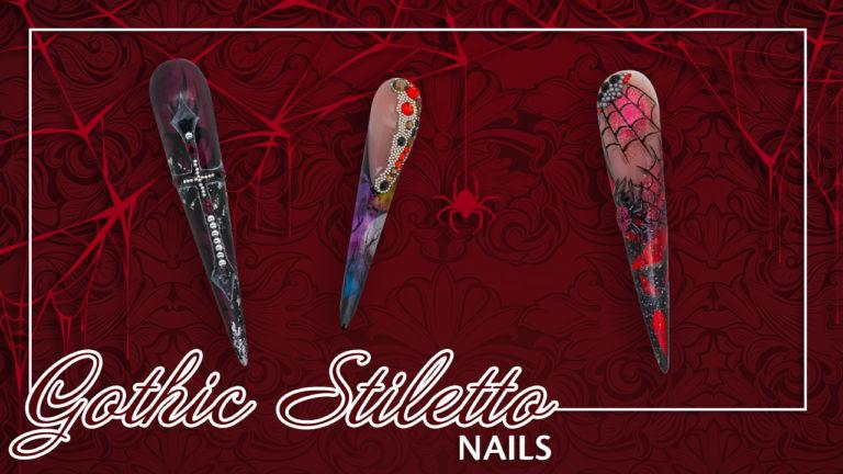 gothic stiletto nail talk live